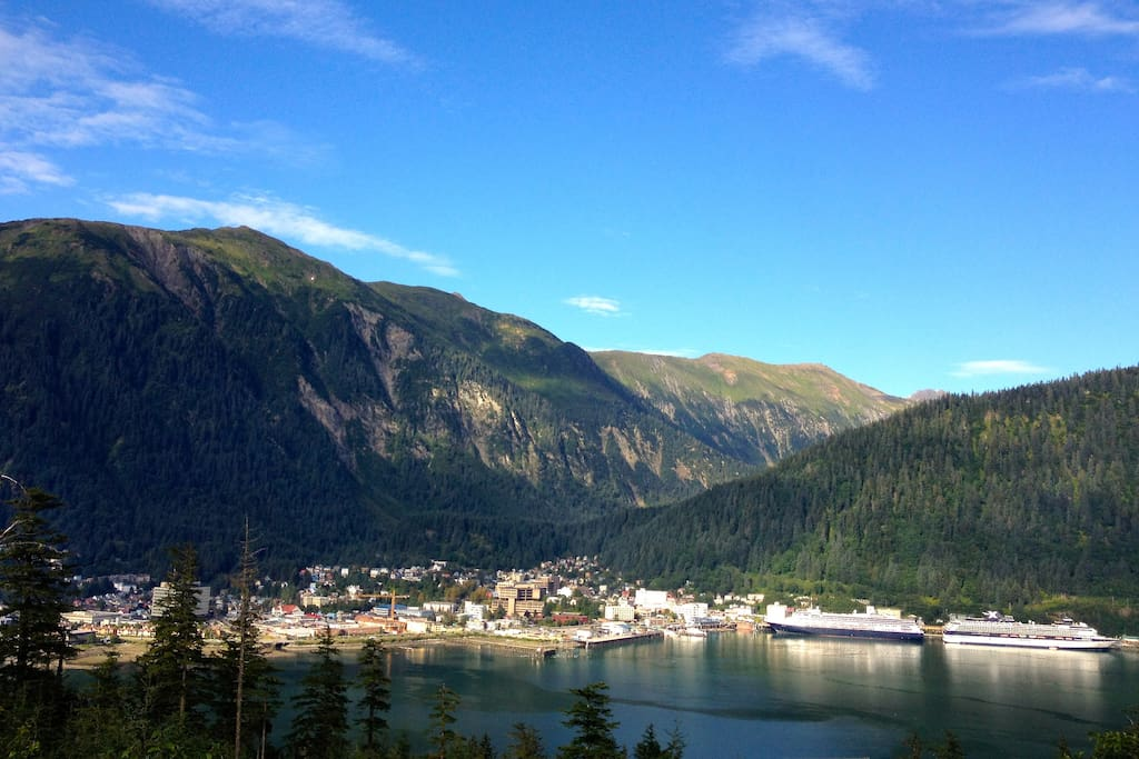 View from Mt Juneau room
