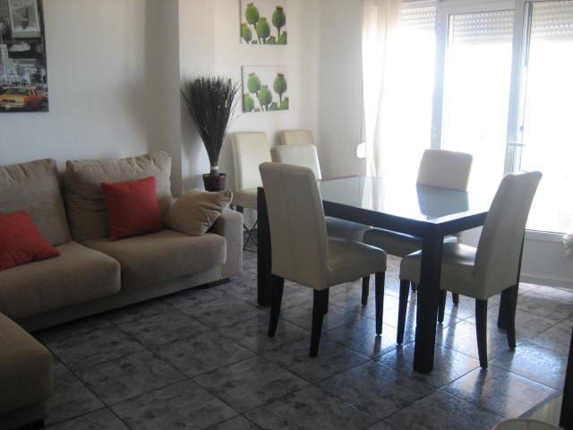 Espectacular apartamento en primer linea de playa