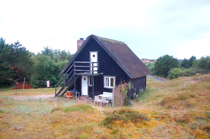 Charming little summerhouse on large nature plot