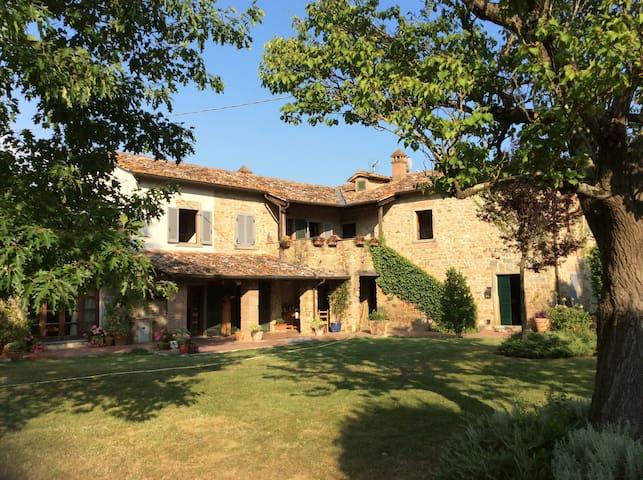 Mulino Dello Zoppo - Castiglion Fiorentino - Haus