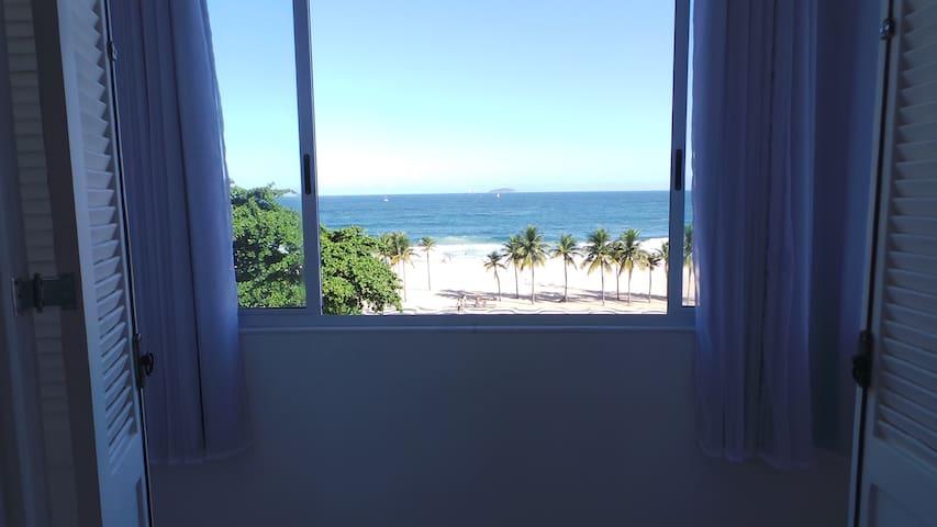 Linda Vista Mar Apart 2Qtos Copacabana Leme