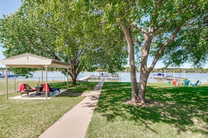 Anchored Away on Lake Granbury - Open Water Home - Granbury - Dům