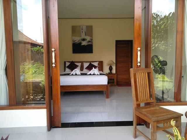 Jepun authentic Bali living at Chandra House ubud