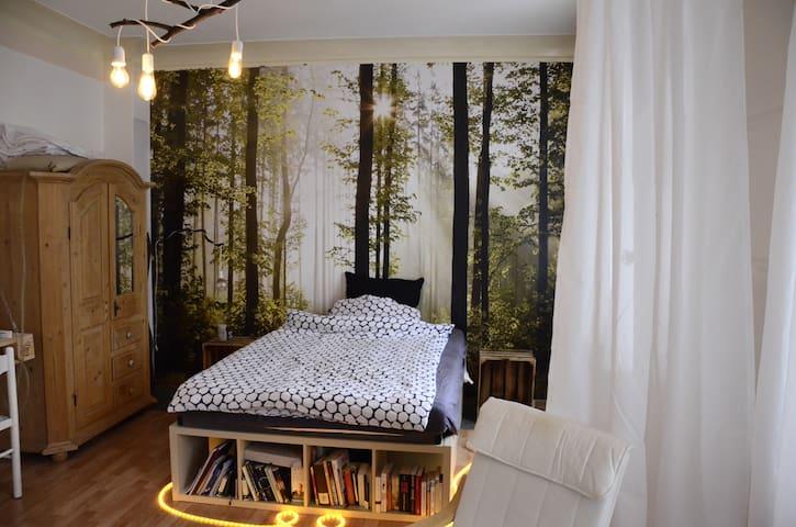 Gemütliches Zimmer in Superlage - Mainz - Huoneisto