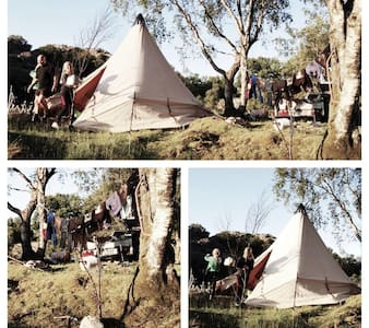 Lavvo, camping in wild nature - Sandnes - Tipi