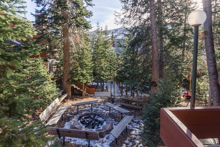 Aspens 10A - Charming Retreat In The Trees - Across From Giant Steps
