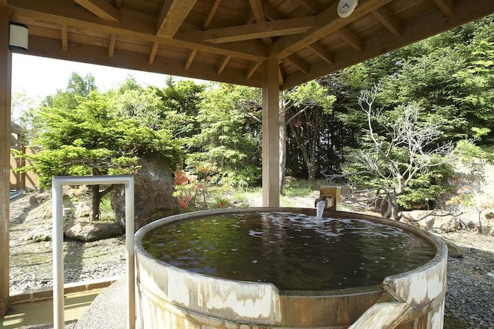 Hotel of Nanboro hot spring, main spot as Hokkaido sight seeing.Japanese room (capacity 4 persons) [Breakfast included]