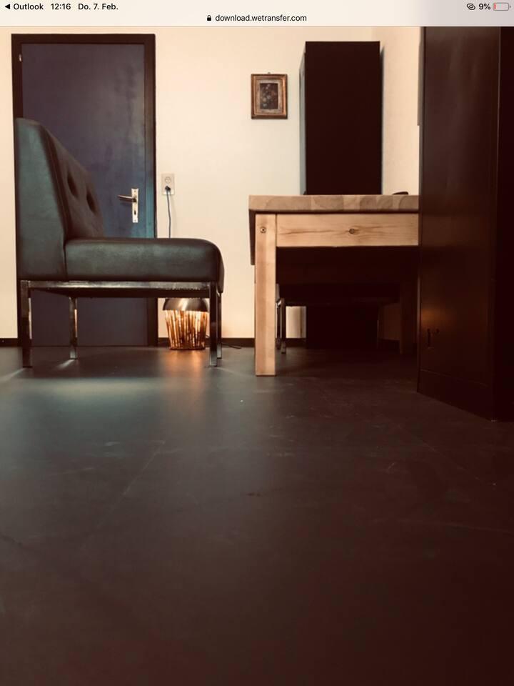 Blaues Zimmer in Villa an Traumlage