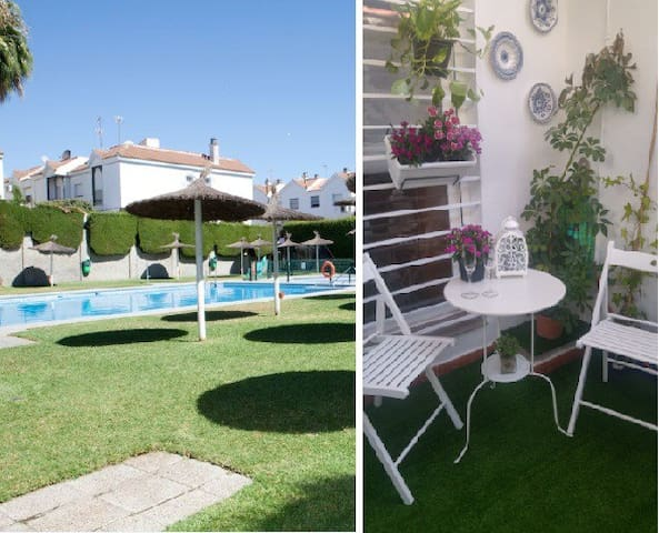 LOVELY FLAT, 10min. Center Seville. Pool, parking