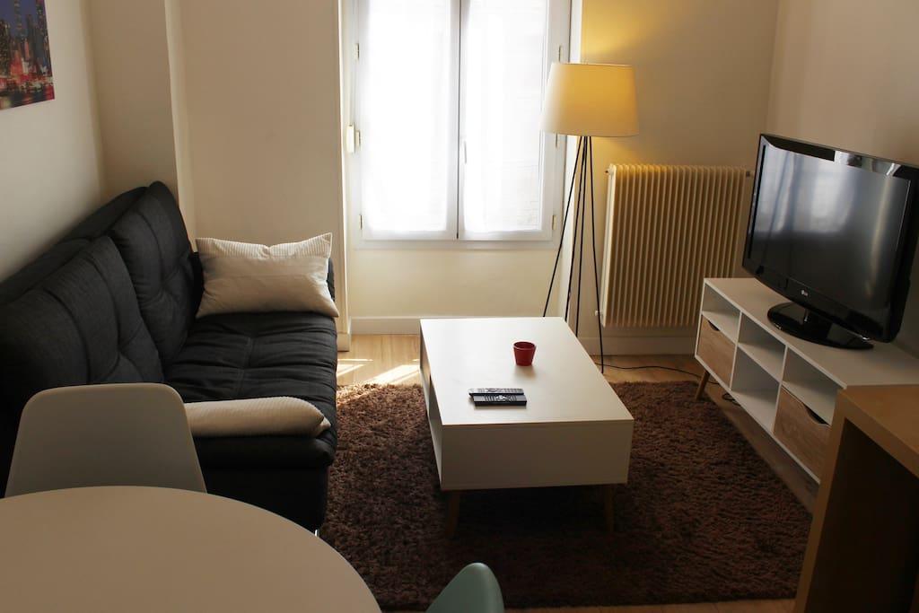 T2 hyper centre victoire tram b appartements louer for Location appartement t2 bordeaux victoire
