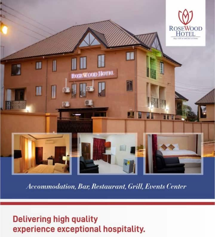 Enjoy your stay at Rosewood Hotel Ghana