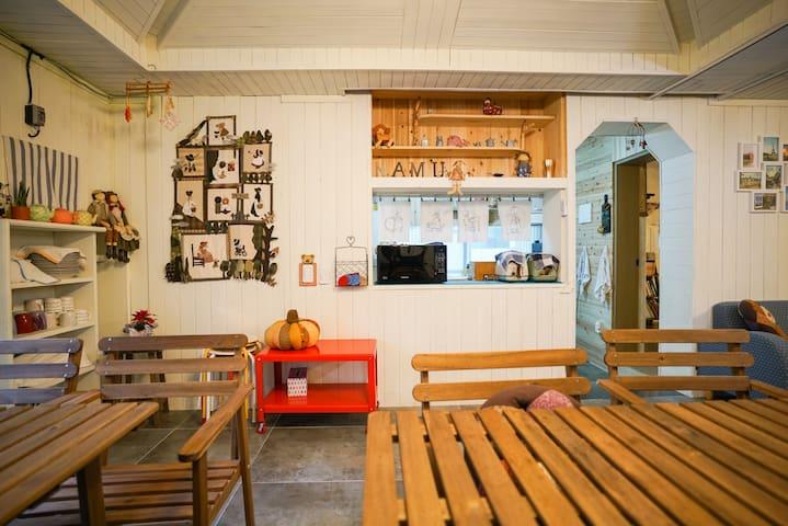 순천나무게스트하우스-가족실(NamuGuestHouse Family Room)