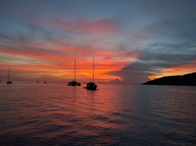 Private Catamaran - St John - 360 degree views! - Cruz Bay - Boat