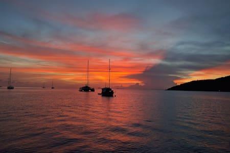 Private Catamaran - St John - 360 degree views! - Cruz Bay - Boot