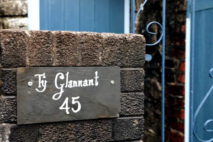 Ty Glannant - cosy house, close to waterfalls.