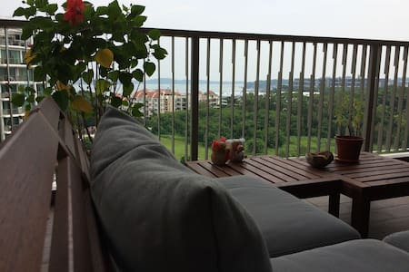 Condo room with sea view close to airport - Singapour
