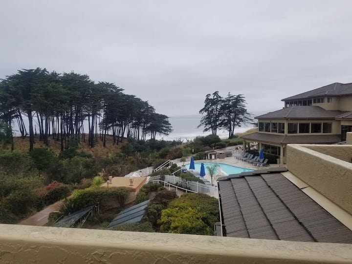 """Remodeled Seascape Resort Ocean View Studio, """"The View for You"""""""
