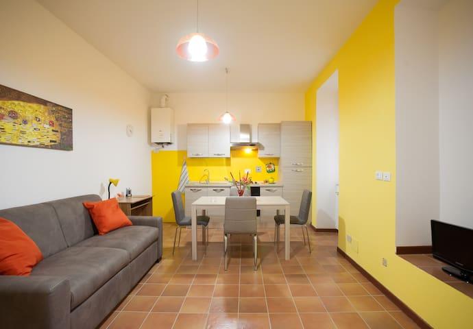 Delizioso appartamento in centro storico - Ronciglione - Apartamento