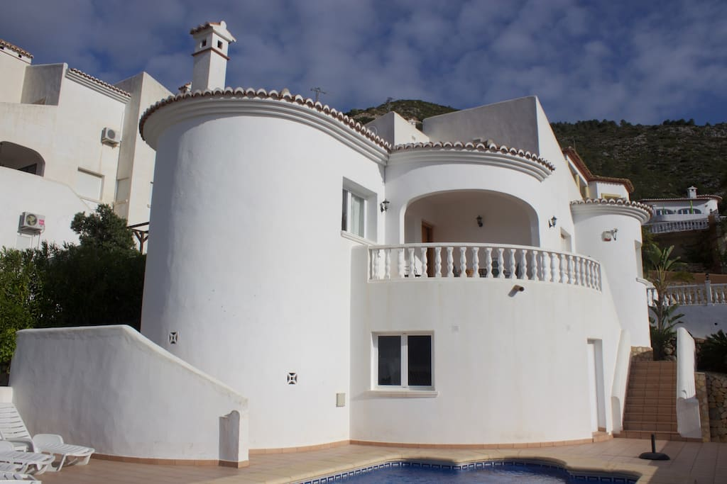 The front of Villa Margarita