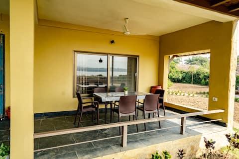 The Satpura Panchtatva Villa - With Breakfast