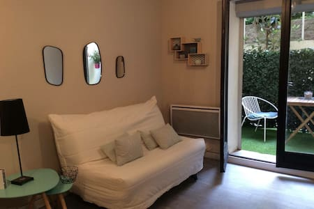Studio+terrasse au calme Bd Baille - Marseille