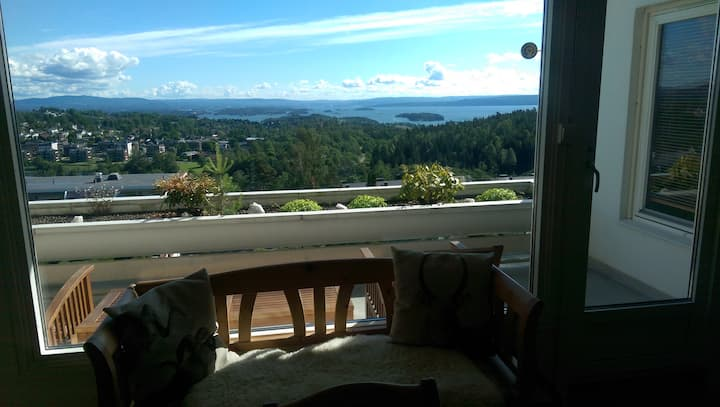 * Oslofjord panorama - close nature *