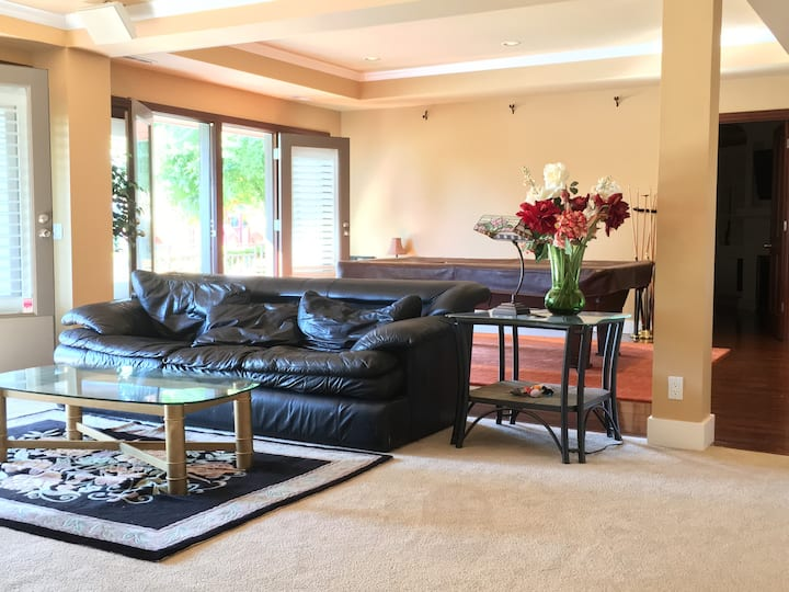Cozy, Spacious, Private 2018 s.f Suite  Fireplace!