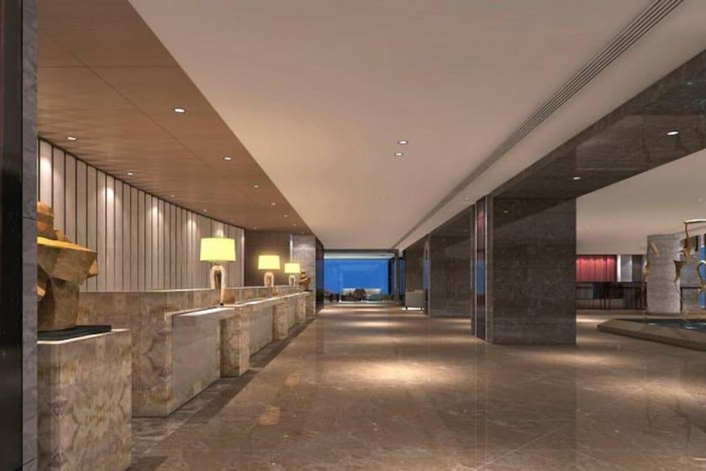 前台大厅The reception hall