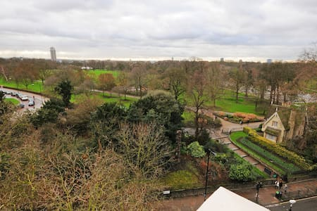 Stunning one bedroom- Panoramic views of Hyde Park - Apartament