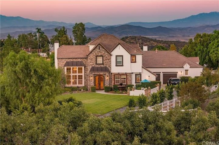 Magnificent Custom French Estate in Wine Country