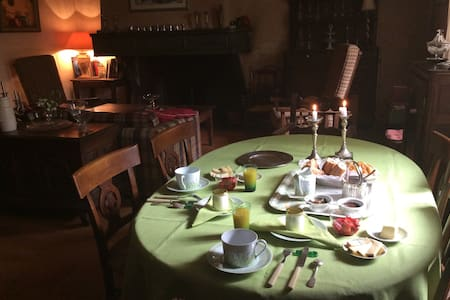 Cosy room in mansion, Swimming pool - Mirepoix - Inap sarapan