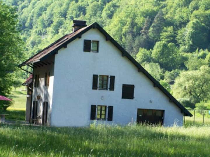 Un gîte familial au cœur du Doubs, près d'ornans