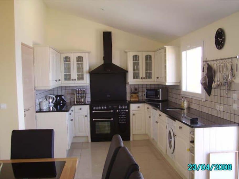 Kitchen with Rangemaster Aga
