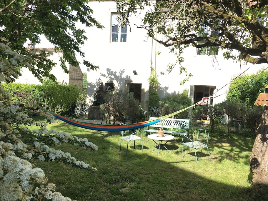 Garden spring