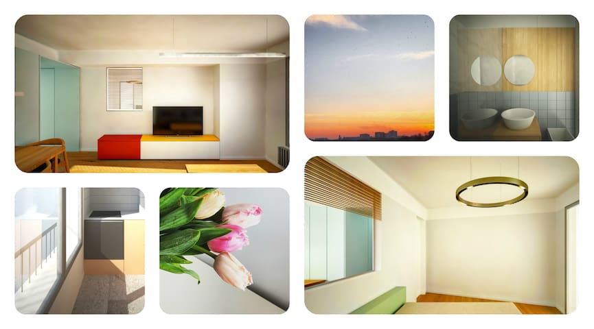 Here comes the sun ☼ Central apartment with a view