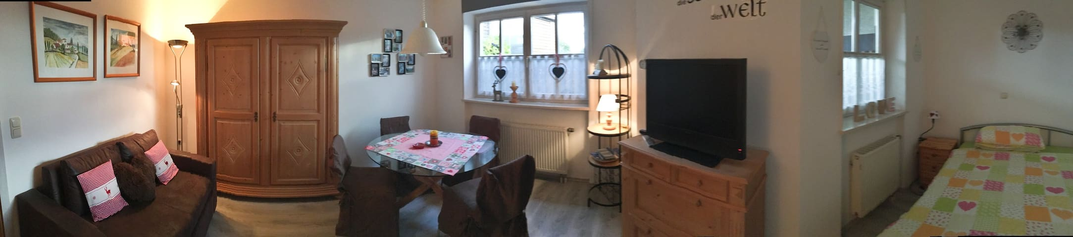 Nettes Apartment im Bayerischen Wald, St. Englmar - Sankt Englmar - Byt