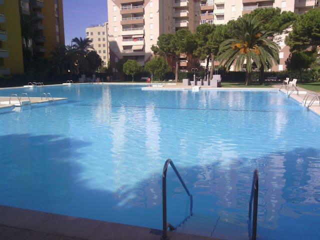 Fantástico apartamento con gran piscina y playa - Canet de Berenguer - Apartment