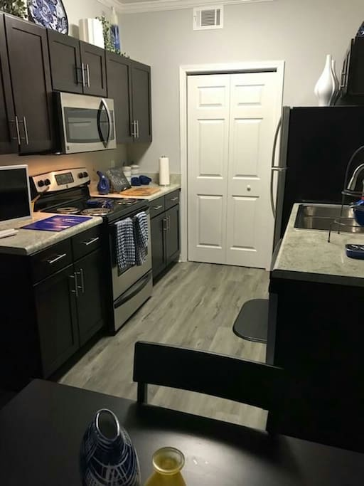 Kitchen, with everything!