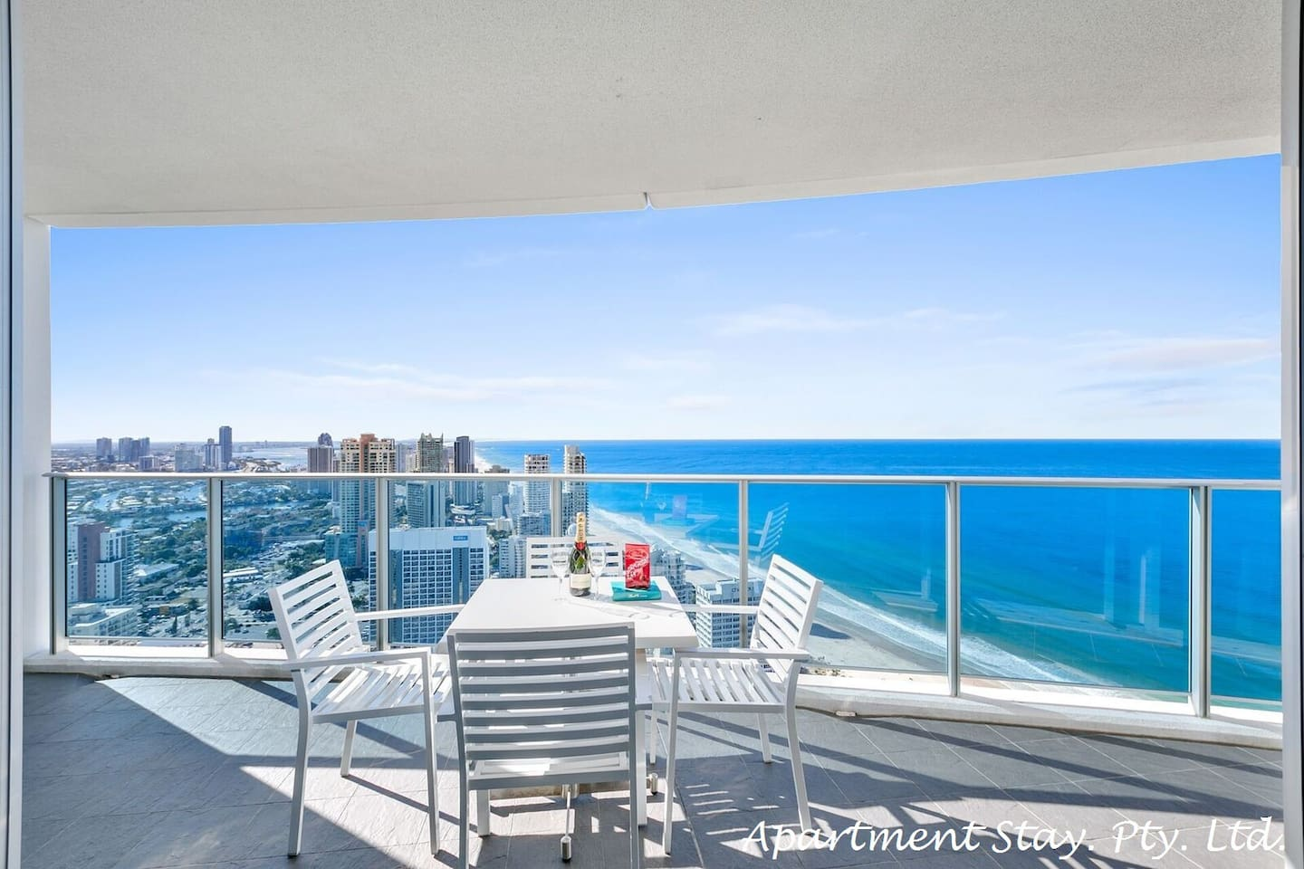 EMERALD COAST - Large entertaining balcony with gorgeous ocean views.