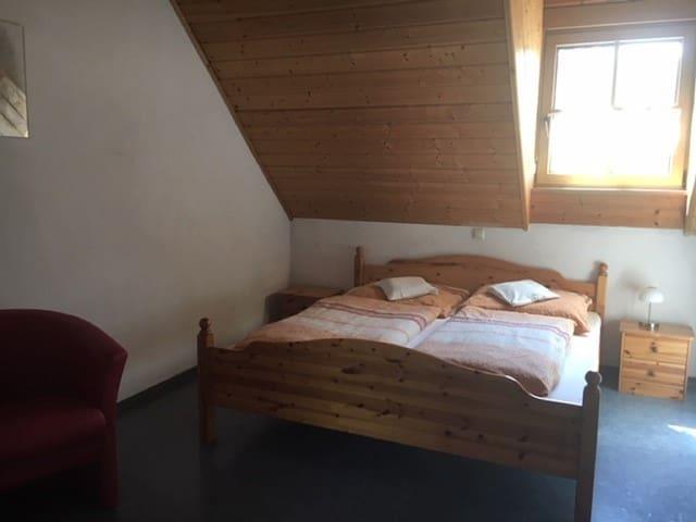 Ferienwohnung Stahl (Pirk), Ferienwohnung Stahl 2 - mit gemütlicher Wohnküche und toller Aussicht
