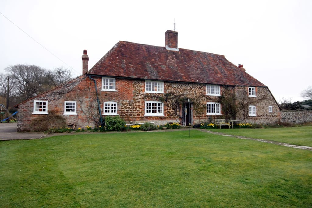 A traditional Sussex farmhouse