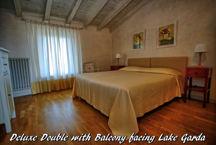 Deluxe Double with Terrace and Lake Garda view