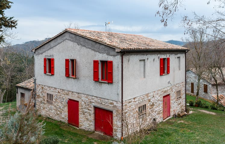 Cà dei Noci- Old stone farmhouse - Tarugo - Casa