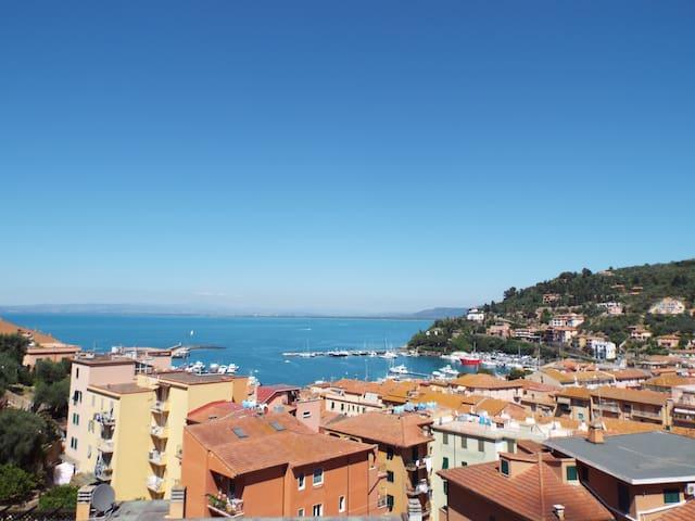 Delizioso appartamento meravigliosa vista panorama - Porto Santo Stefano - Appartement