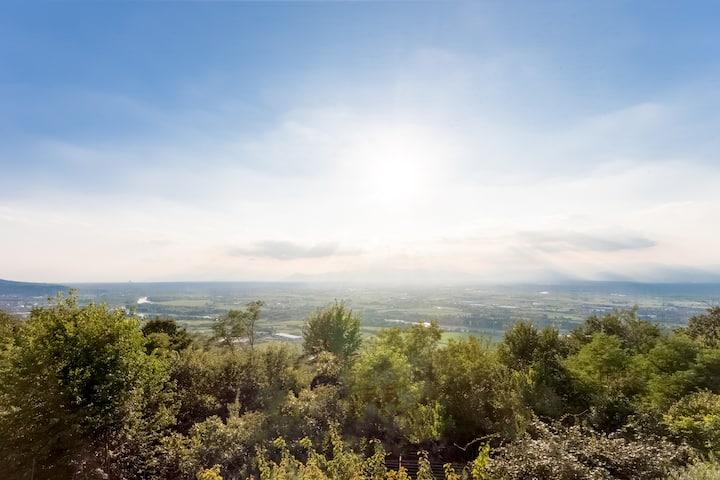 Villa sulle nuvole, San Raffaele Cimena (TO)