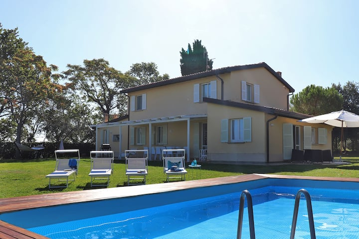 Villa Selene - Private villa, pool, sea view