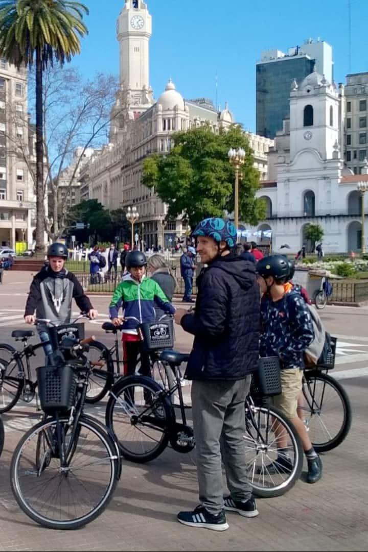 Bici Tour Plaza de Mayo