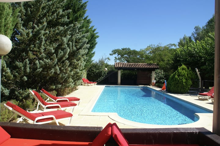 Modern Villa in Lorgues with Private Pool