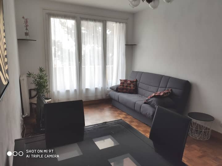 Grand Paris Fresnes, 1 bedroom in a flat, 2 people