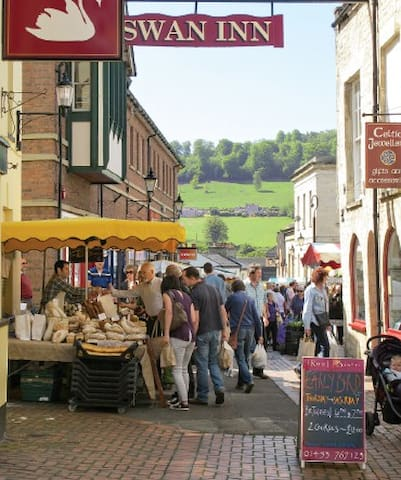 Stroud is known as the Covent Garden of the Cotswolds